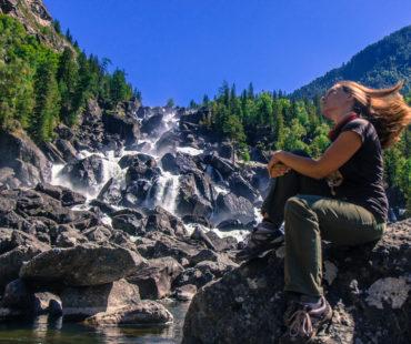 Водопад Учар ( Большой Чульчинский Водопад)